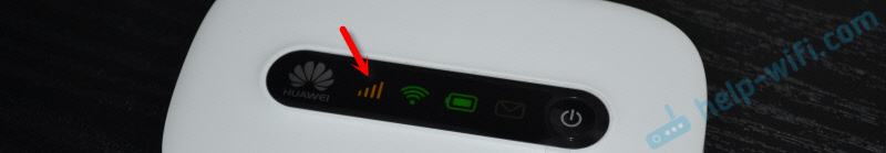 Уровень 3G сигнала Huawei EC 5321u