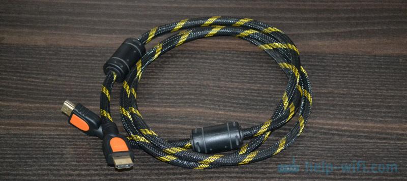 HDMI кабель для соединения телевизора с ПК