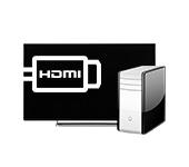 ТВ к ПК по HDMI