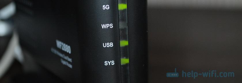 Индикатор USB на Netis
