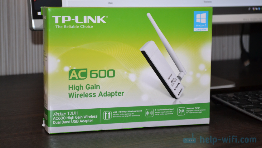 Упаковка TP-Link Archer T2UH