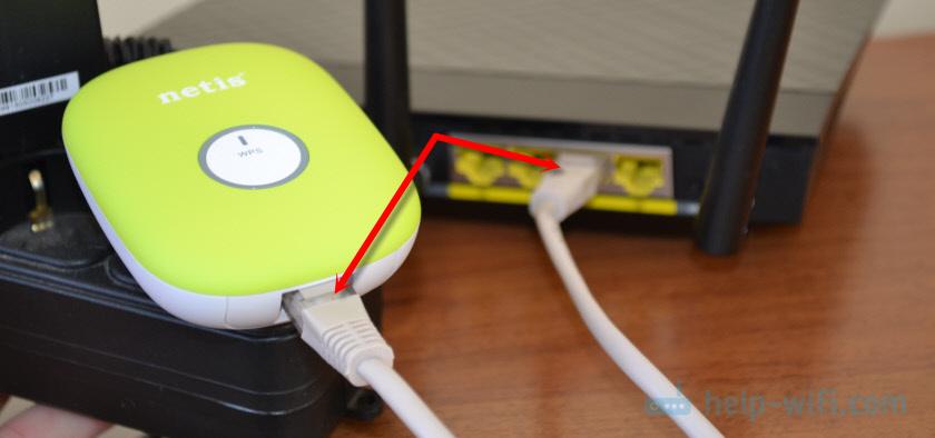 Netis Wireless N E1+ как точка доступа