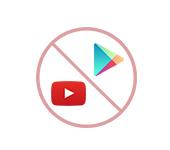 Нет подключения для YouTube и Google Play в Android