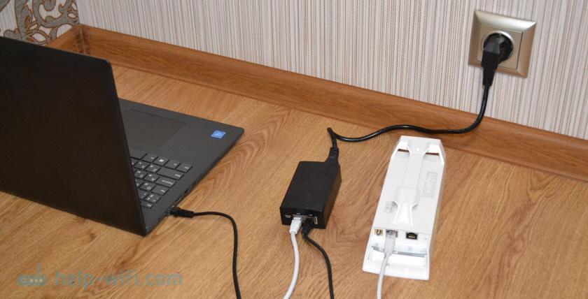 Подключение TP-Link CPE510