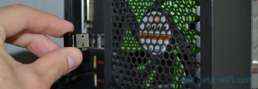 Подключение Bluetooth адаптера к компьютеру