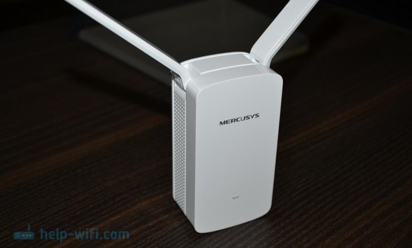 Внешний вид Wi-Fi усилителя MW300RE