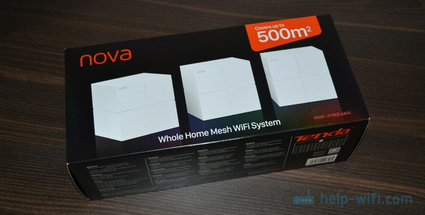 Упаковка Tenda Nova MW6