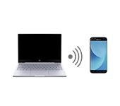 Передача интернета с ноутбука на телефон