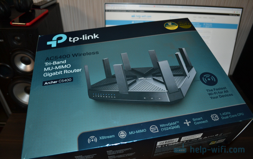 Упаковка TP-Link Archer C5400