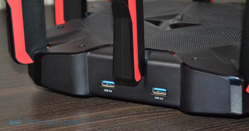 Роутер TP-Link с 2 USB-портами 3.0