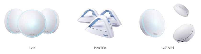WiFi Mesh система ASUS Lyra