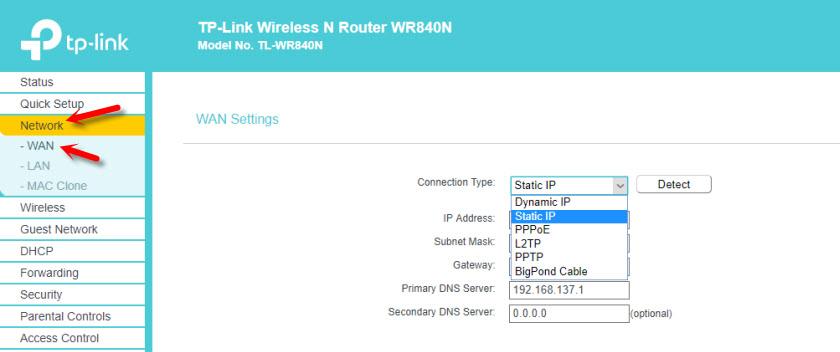 Перестал работать интернет на TP-Link TL-WR840N (Ограничено)