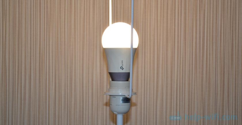 Подключение умной лампочки TP-Link LB130