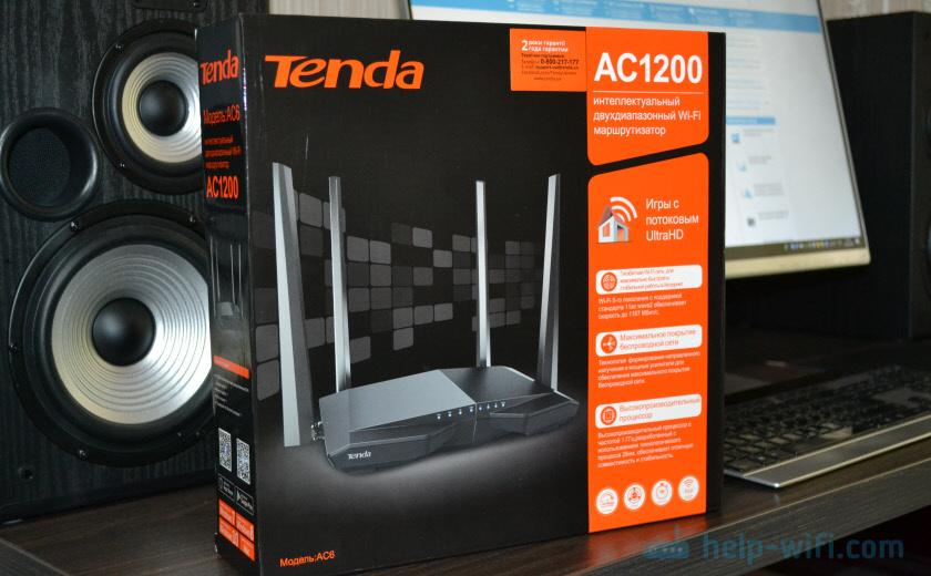 Упаковка Tenda AC6