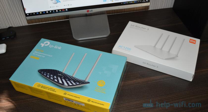 TP-Link Archer C20 и Xiaomi Mi Wi-Fi Router 3