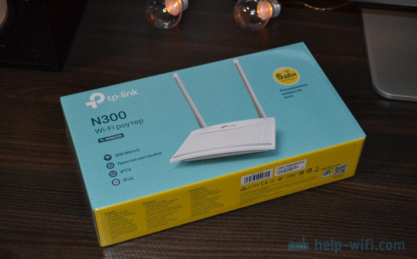 Упаковка TP-Link TL-WR820N