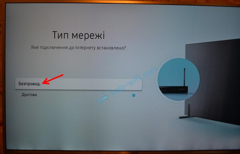 Беспроводное подключение к интернету на Samsung Smart TV
