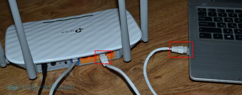 Подключение TP-Link Archer A5 к компьютеру