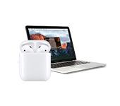 Использование AirPods с компьютером и ноутбуком на Mac OS