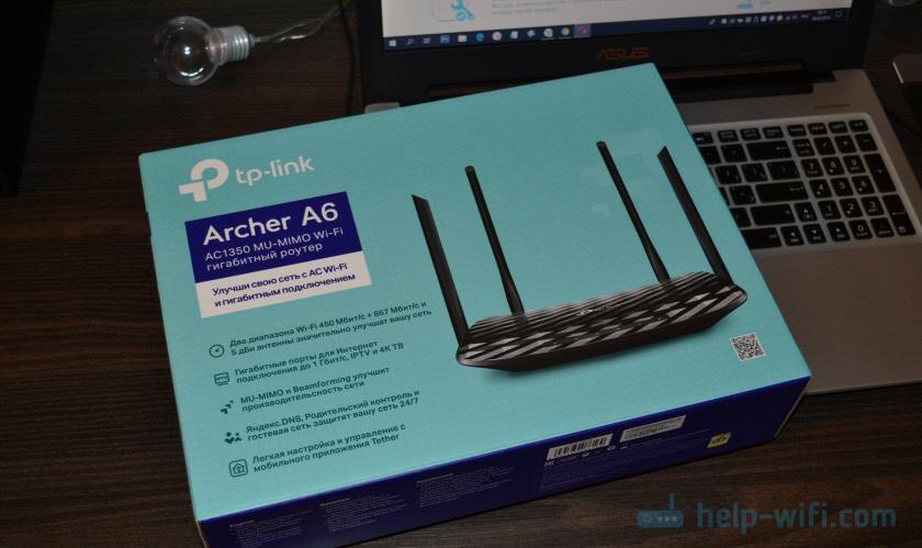 Упаковка TP-Link Archer A6