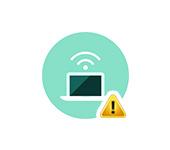 Ошибка Wi-Fi адаптера или точки доступа