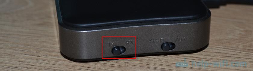 Переключение режима TX/RX (примем/передача) на Bluetooth трансмиттере