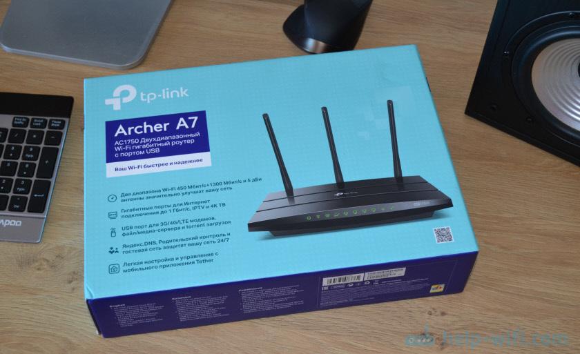 Упаковка TP-Link Archer A7