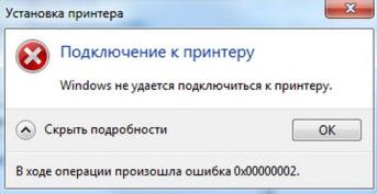 Windows не удалось подключится к принтеру. Отказано в доступе