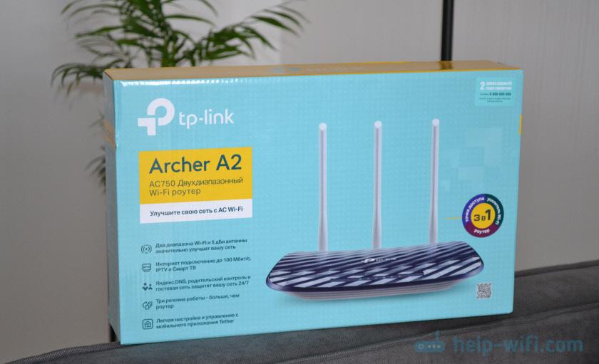 Упаковка TP-Link Archer A2