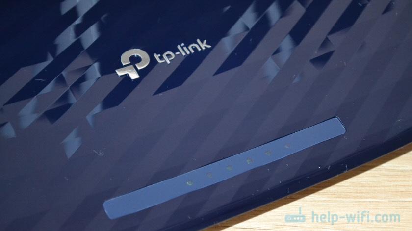 Индикаторы на TP-Link Archer A2