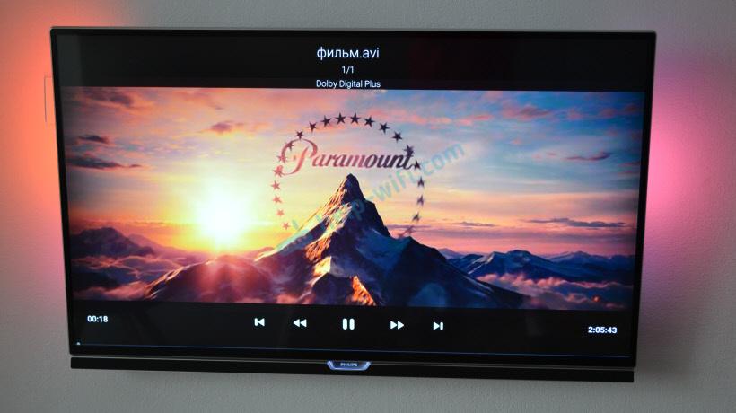 Просмотр видео и фото через USB на телевизоре