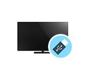 USB флешка и телевизор