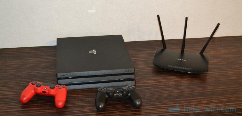Подключение PlayStation 4 (Pro, Slim) к интернету